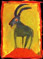 pintura de capricornio