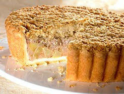 Receta apple crumble