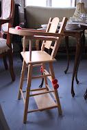 2 stk dukkestoler