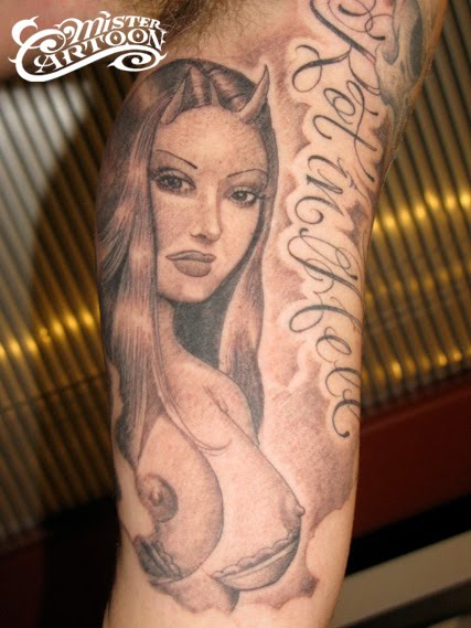 Tags: mister cartoon, tattoo. Posted in Tattoos, The Last Laugh | No