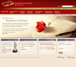Proud Member of Romance Writers of America (RWA)