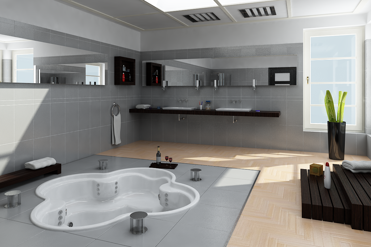 Glauco design bagno moderno for Design moderno
