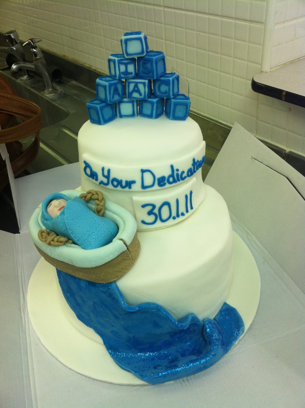 Cake Designs For Baby Dedication : Dedication A Baby Cake Ideas and Designs