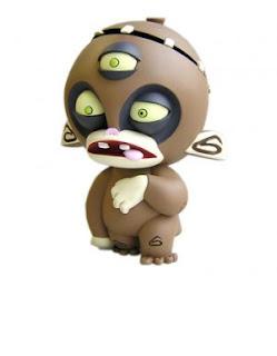 Brown Franken Monkey
