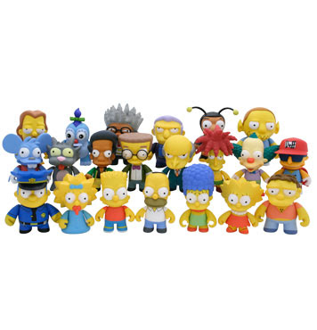 mini figuras de los Simpsons