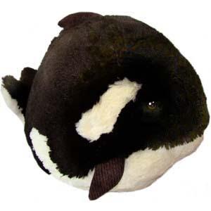 peluche de orca gorda