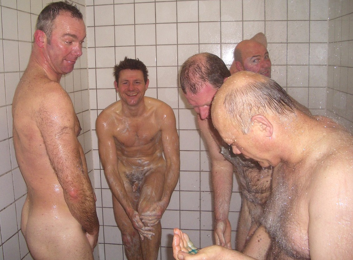 Happy have naked daddy shower