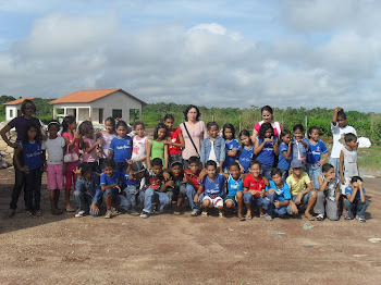 Visita dos alunos ao lixão de Castanhal