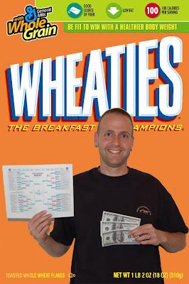 Jeremy on Wheaties box