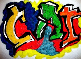 Finalizado el  CONCURSO GRAFFITI Acrilico ! Busca información ampliada sobre el ganador