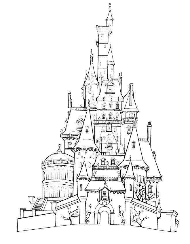 disneyland coloring pages printable - photo#2