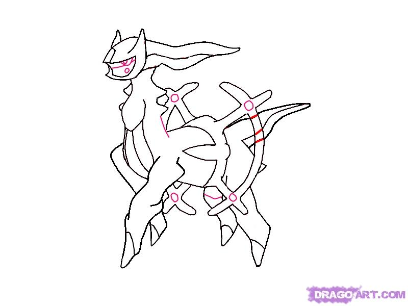 "New Pokemon coloring pages "" Arceus "". Just want share this pokemon coloring"