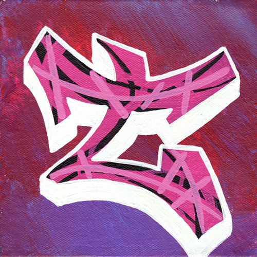 the letter m graffiti. Graffiti T : Simple Alphabet