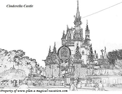 Digital Dunes Disney Castle Free Printable Coloring Pages