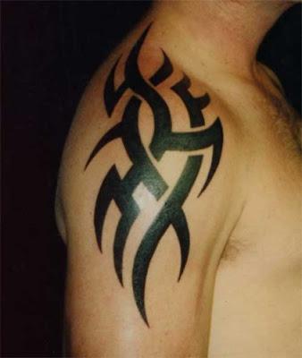 Tribal Tattoos om Arm For Man Ideas