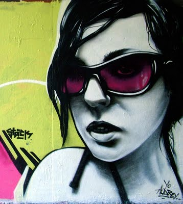 Aofburda Graffiti Characters Girls Beauty Face