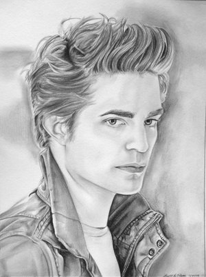 edward cullen robert pattinson coloring pages - Twilight Coloring Pages To Print