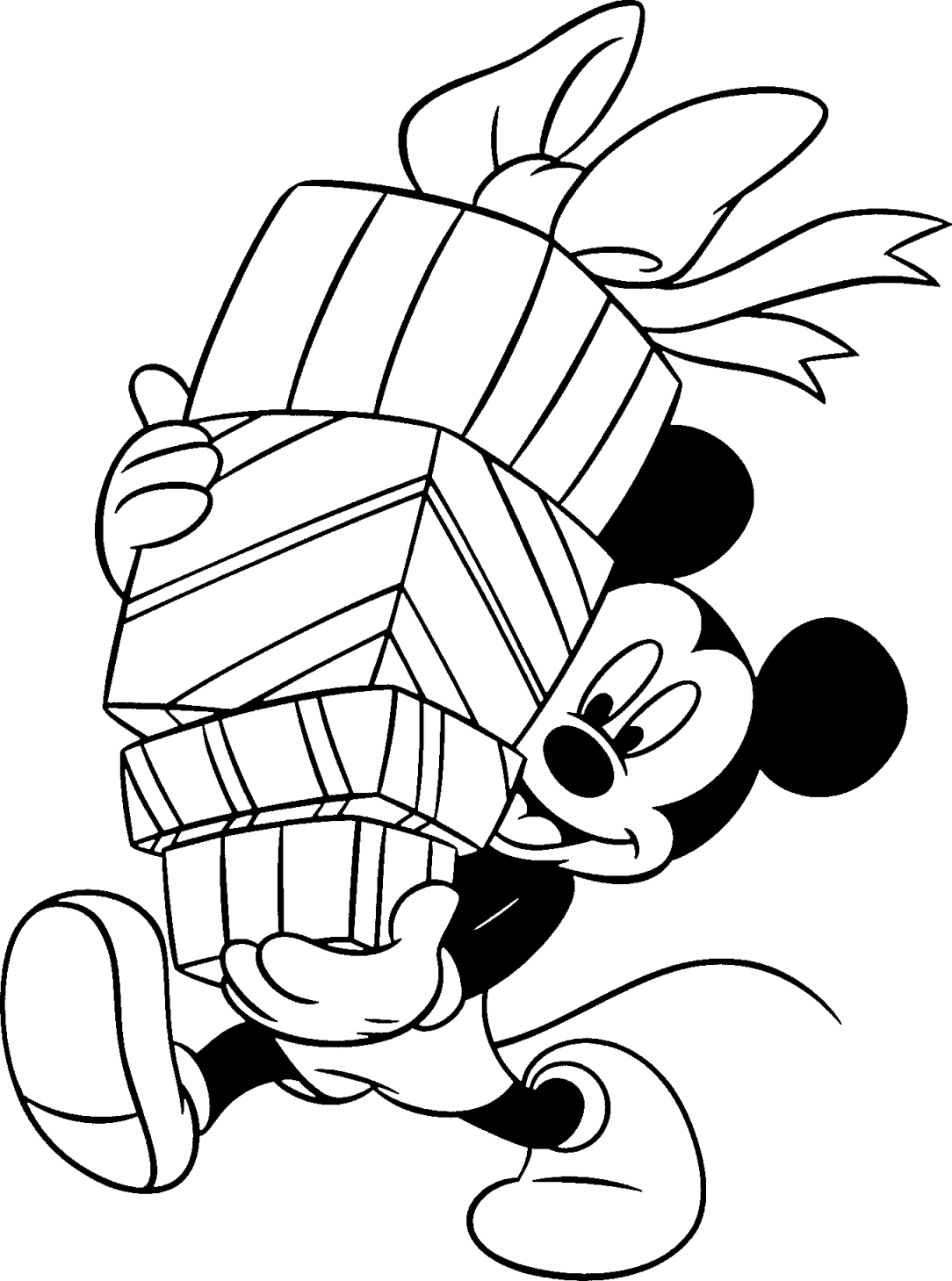 Basket Coloring Pages
