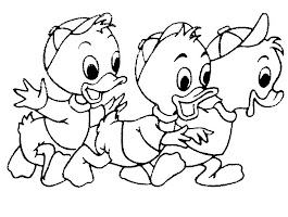 Baby Donald Duck Coloring Pages