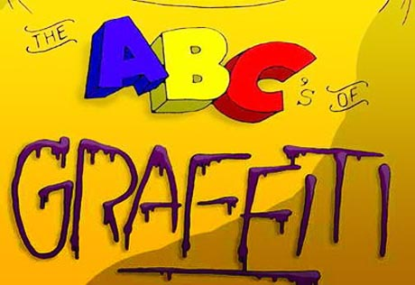 Graffiti A B C ALphabet Letters Design