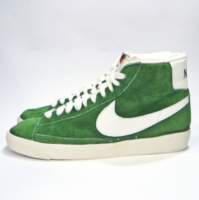 Nike SB Blazer Suede Pine Green Sneakers (Pine Green/Sail-Black-Orange Blaze)