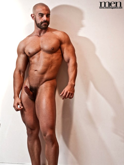 Naked Handsome Mature Muscular Man