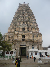 20DEC2007, WHEN WE VISITED HAMPI TEMPLE TOWER