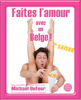 Affiche Faites l'amour avec un Belge