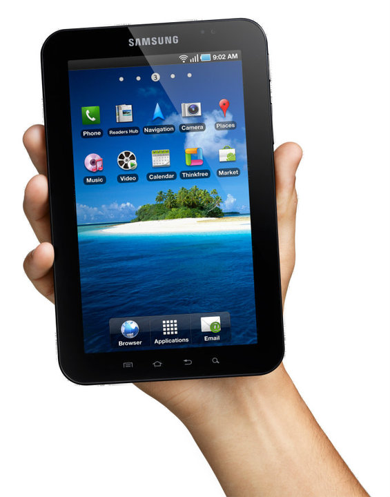 La photo de la tablette