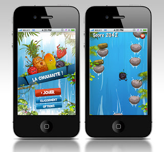 Application iPhone La Chute