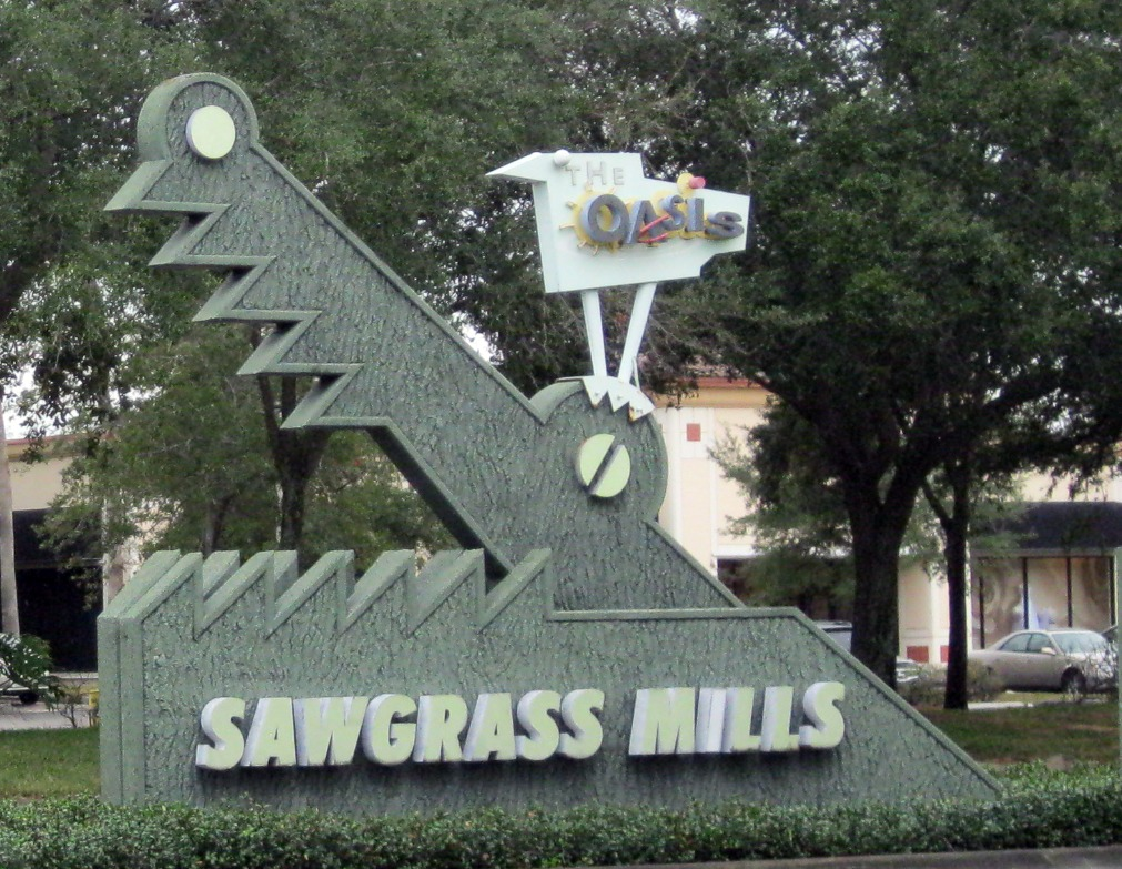 Sawgrass Mills Mall Map Directory