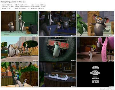 The Penguins Of Madagascar Happy King Julien Day 2010movie DVDRip torrent download Dc37mb