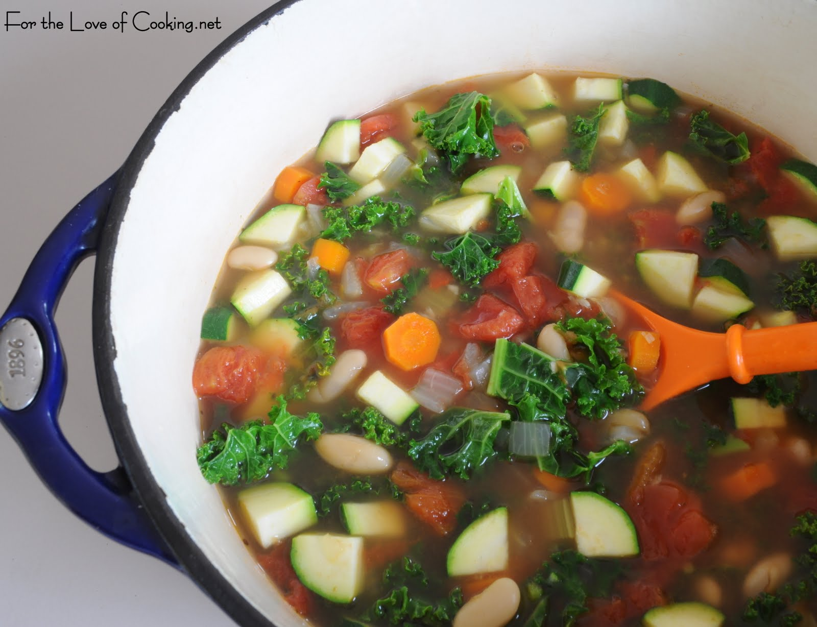 For the Love of Cooking: Vegetable and Kale Soup