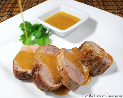 Pork Tenderloin with a Honey Mustard Sauce