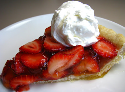 Meg's Strawberry Lemon Jello Pie