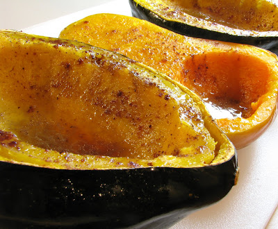 Baked Butternut Squash and Acorn Squash