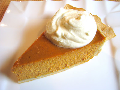 Pumpkin Pie with Homemade Crust