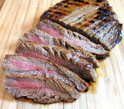Korean Style Flank Steak | For the Love of Cooking