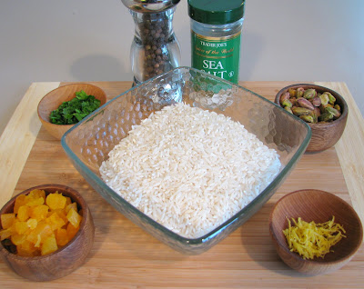 Rice with Apricots and Pistachios | For the Love of Cooking