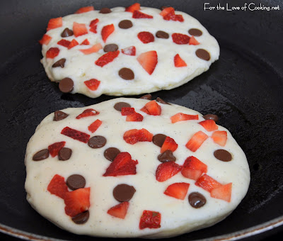 Neapolitan Pancakes | For the Love of Cooking