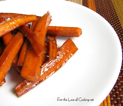 Asian Roasted Carrots