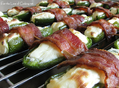 Bacon and Cream Cheese Stuffed Jalapenos