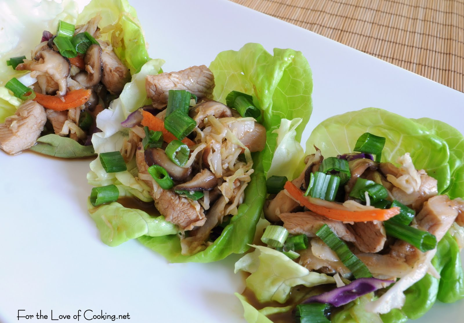 Moo Shu Pork | For the Love of Cooking