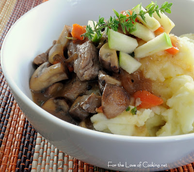 Pork and Mushroom Stew