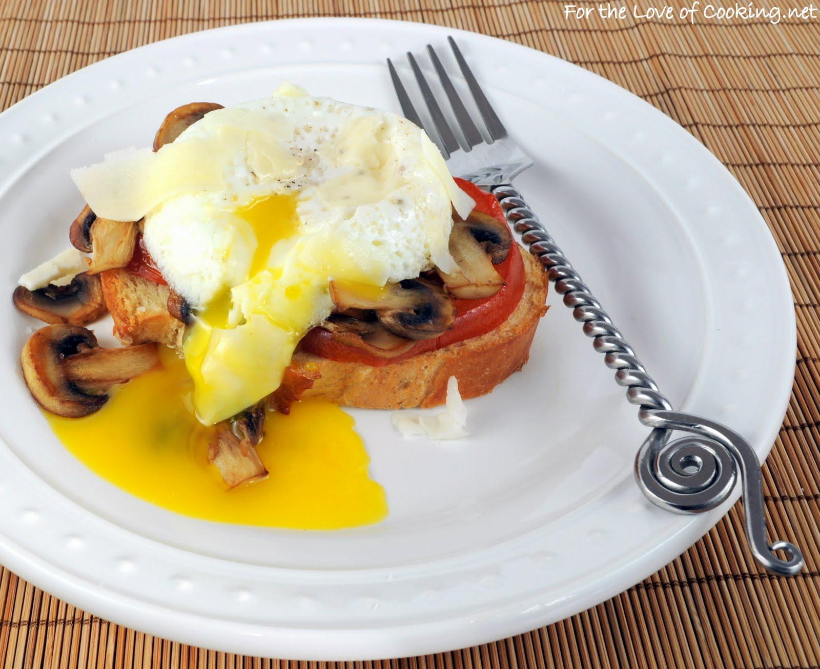 toasts on parmesan tomato toast tomato toast with parmesan bacon ...