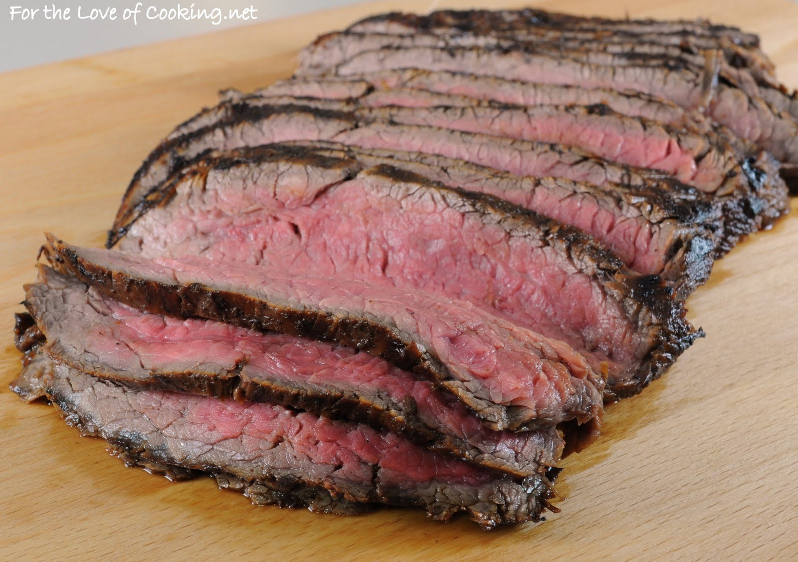 For the Love of Cooking: Flavorful Flank Steak