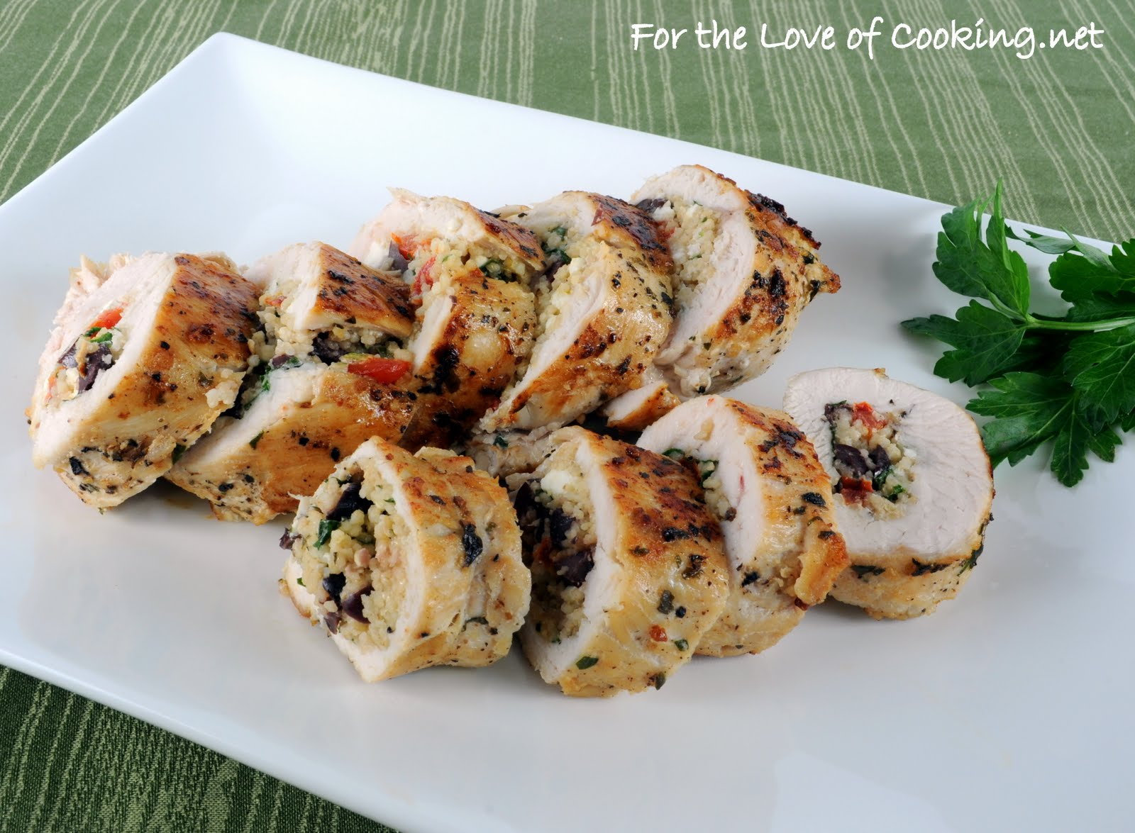 Couscous Stuffed Chicken Breasts | For the Love of Cooking