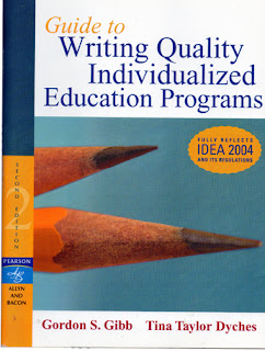 individualized education program essay Ieps each public school child who receives special education and related services must have an individualized education program.