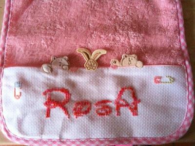 bavettina Rosa Bavetta+marinella