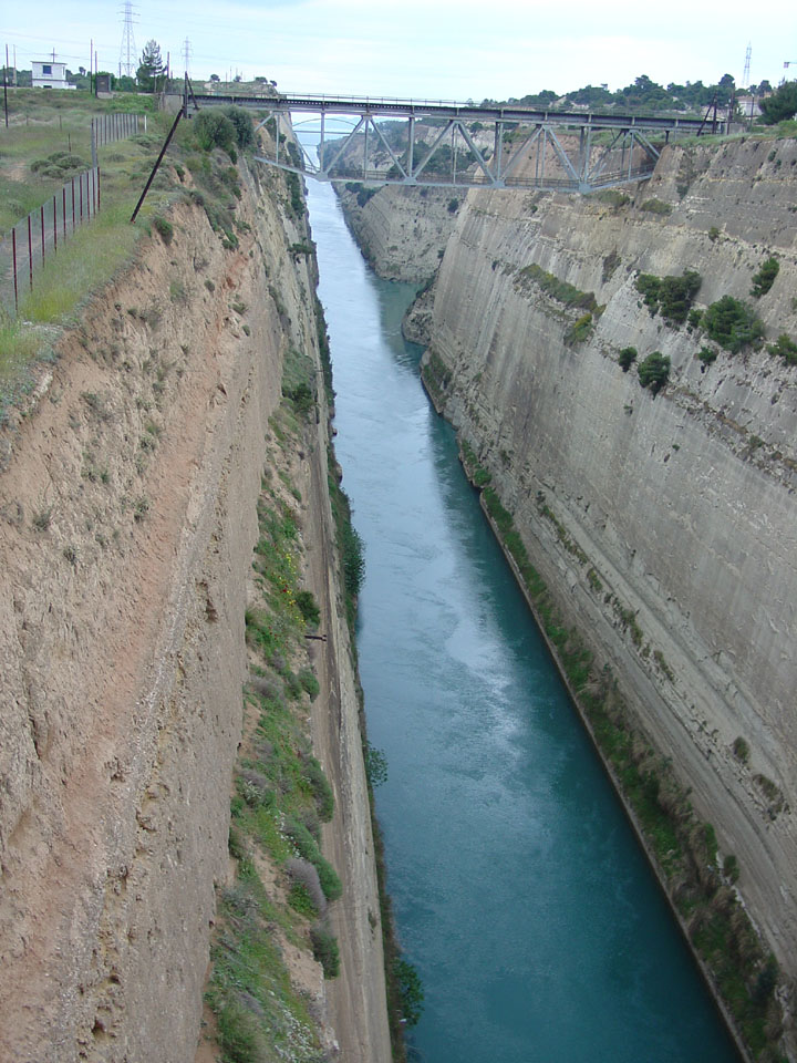 CKD Boats - Roy Mc Bride: The Corinth Canal in Greece
